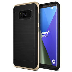 Vrs Design High Pro Shield Case for Samsung Galaxy S8+ Shine Gold (VRSG8EHPSGD)