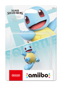 amiibo - Squirtle - Super Smash Bros. Series