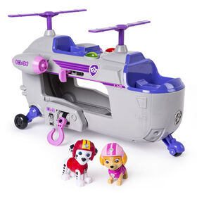 PAW Patrol Ultimate Rescue – Skye's Ultimate Rescue Helicopter with Lights and Sounds - Exclusive