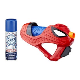 Spider-Man: Far From Home Spider-Man Web Burst Blaster with Spidey Web Fluid