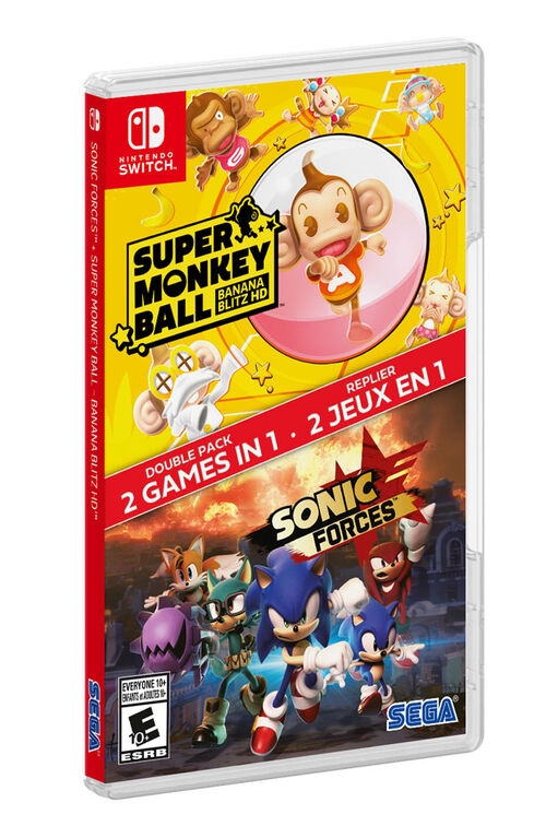 Nintendo Switch - Super Monkey Ball/Sonic Forces 2Pack