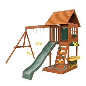 KidKraft Sandy Cove Wooden Swing Set
