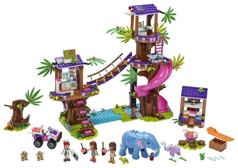 LEGO Friends La base de sauvetage dans la jungle 41424