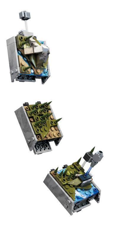 Mega Construx Halo Forerunner Ring Installation - R Exclusive