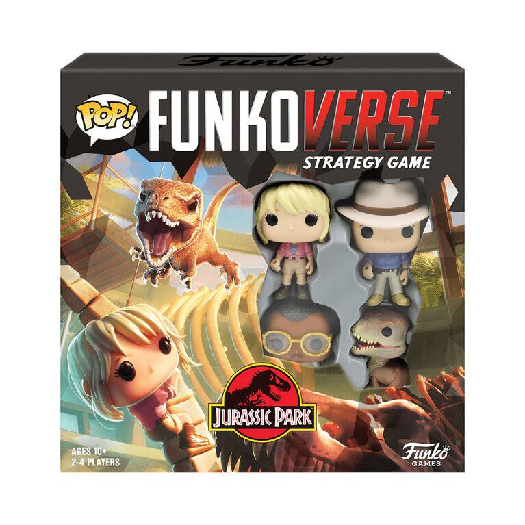 POP! Funkoverse Jurassic Park 100 Strategy Game Base Set - English Edition