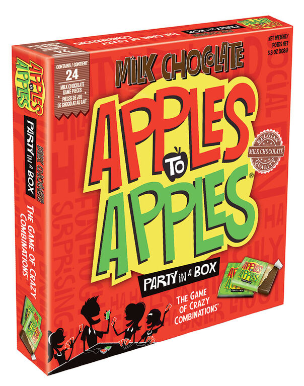 Apples To Apples Chocolate Board Game