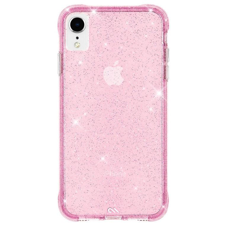 Étui rigide ajusté Sheer Crystal de Case-Mate pour iPhone XR - Rose