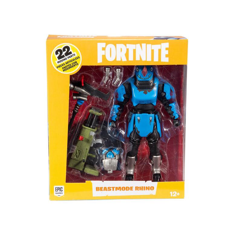 Fortnite Beastmode Rhino - 7″ Action Figure