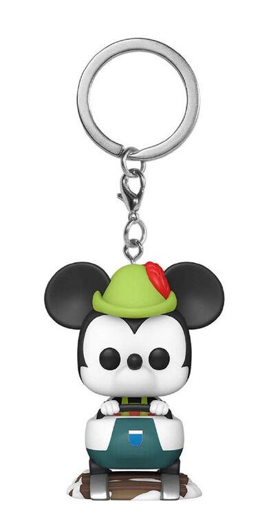 Funko Pop! Keychain: Disneyland 65th - Mickey with Matterhorn
