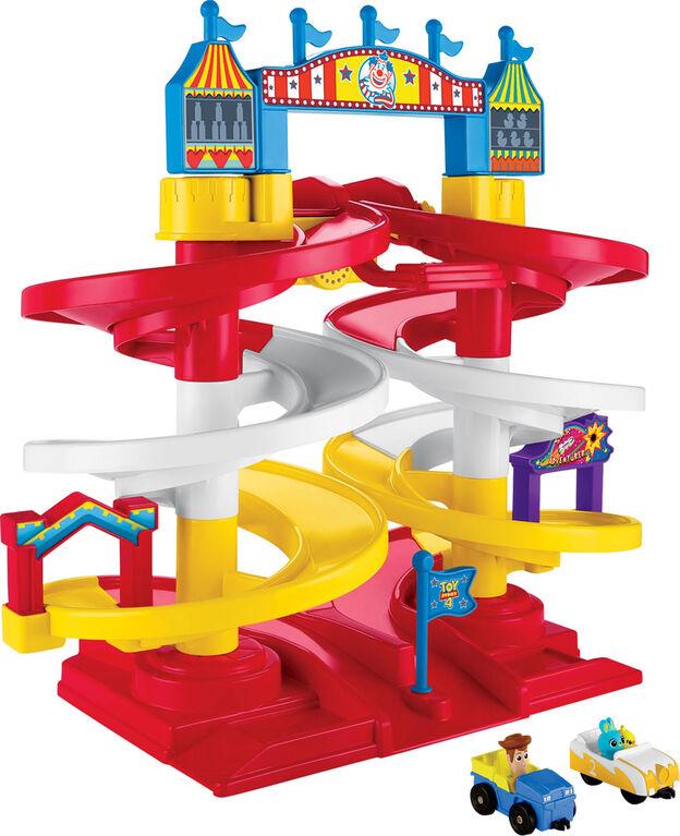 Disney Pixar Toy Story 4 Carnival Spiral Speedway - English Edition