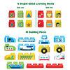 LeapFrog LeapBuilders Soar & Zoom Vehicles - Bilingual Edition