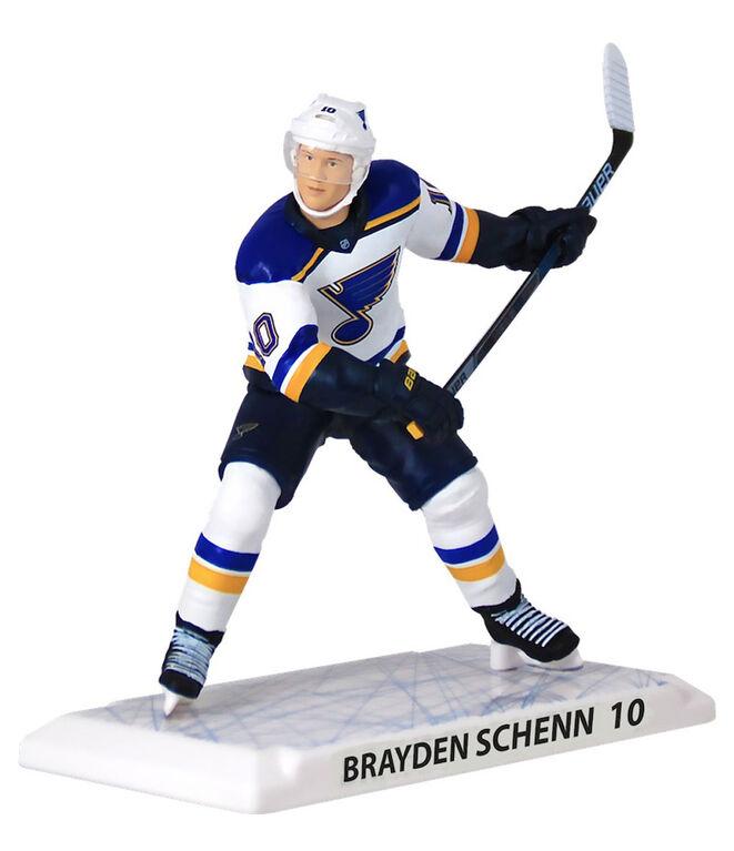 Brayden Schenn des Blues de St-Louis -  Figurine de la LNH de 6 pouces.