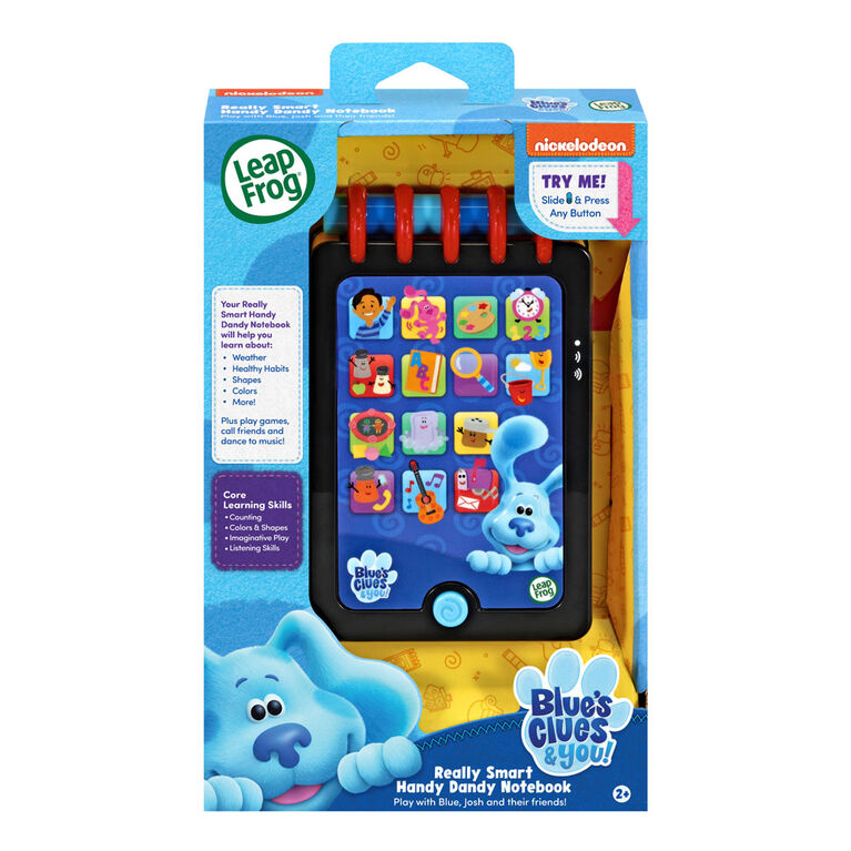 LeapFrog Blue's Clues & You! Really Smart Handy Dandy Notebook - English Edition