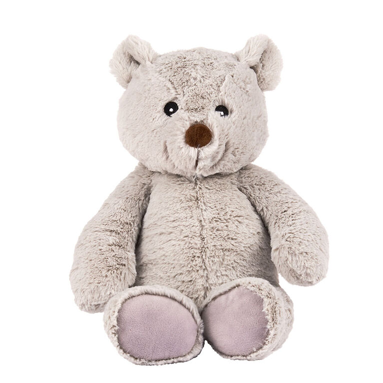 Peluche ourson de l'amitié gris de 32 cm Animal Alley - Notre exclusivité