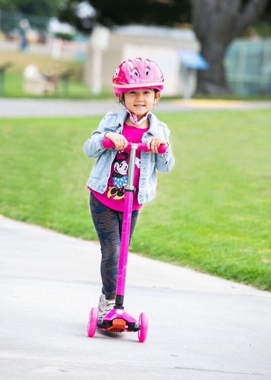 Sport Runner scooter 3 roues avec roues lumineuses - bleu - Notre exclusivité