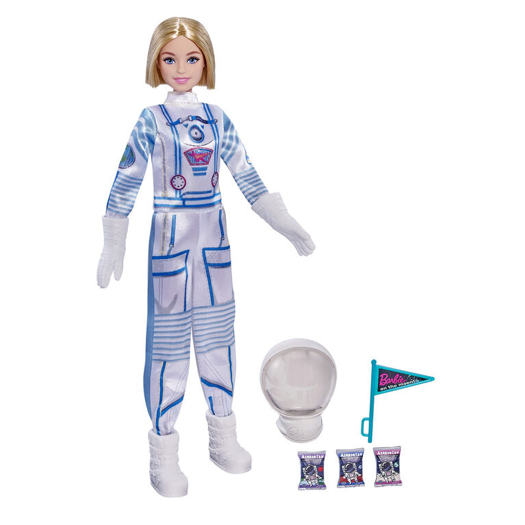 Barbie Space Discovery Astronaut Doll in Spacesuit & 2 Accessories - R Exclusive