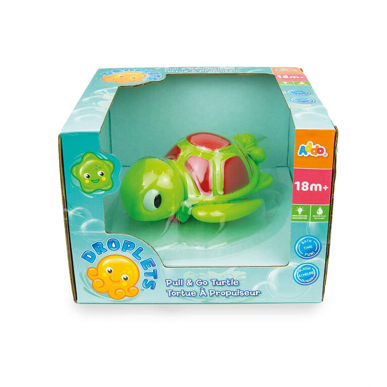 Droplets Turtle Wind Up Bath Toy - R Exclusive