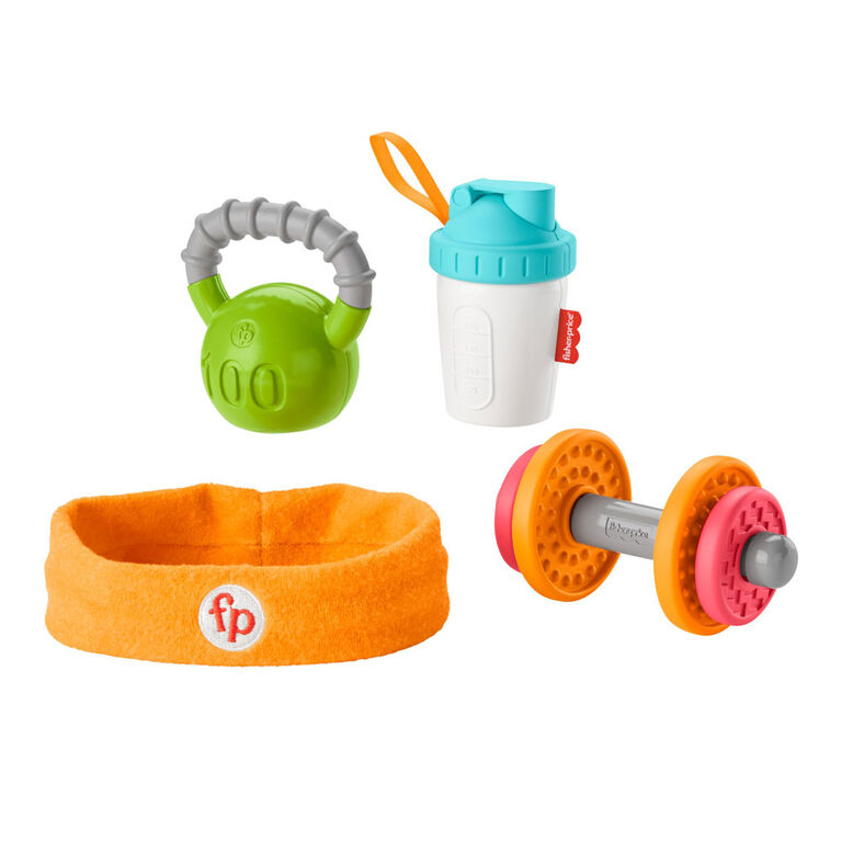 Fisher-Price - Coffret-cadeau Musculation