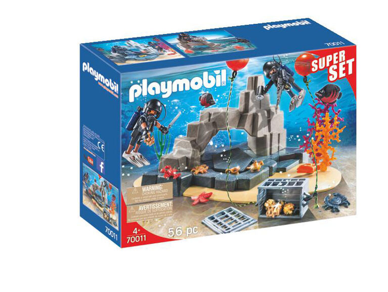 Playmobil Superset Tactical Dive Unit 70011