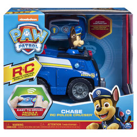 PAW Patrol, Chase Remote Control Police Cruiser with 2-Way Steering