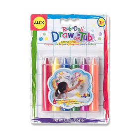 Rub a Dub - Draw in the Tub Crayons