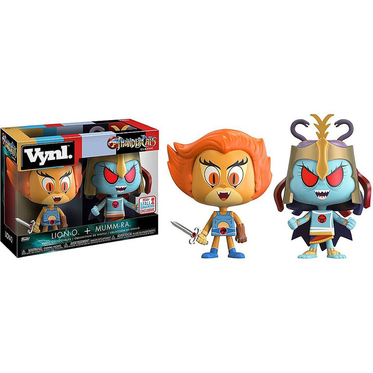 Funko Dorbz Thundercats Lion-O and Mumm-Ra (Toys R Us Exclusive) 2-Pack Vinyl Figures - R Exclusive