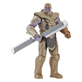 Marvel Avengers : Phase finale Figurine de guerrier Thanos de luxe.
