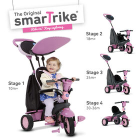 smarTrike: Star - Pink 4 in 1 Convertible Trike - R Exclusive
