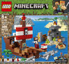 LEGO Minecraft The Pirate Ship Adventure 21152