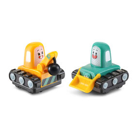 VTech Tut Tut Cory Bolides Zone Surprise Kimmy & Timmy Mini - French Version