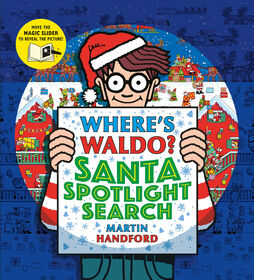 Where's Waldo? Santa Spotlight Search - English Edition
