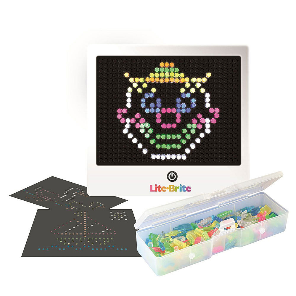 Lite Brite Transformers Refill Set Use with cube and flat screen