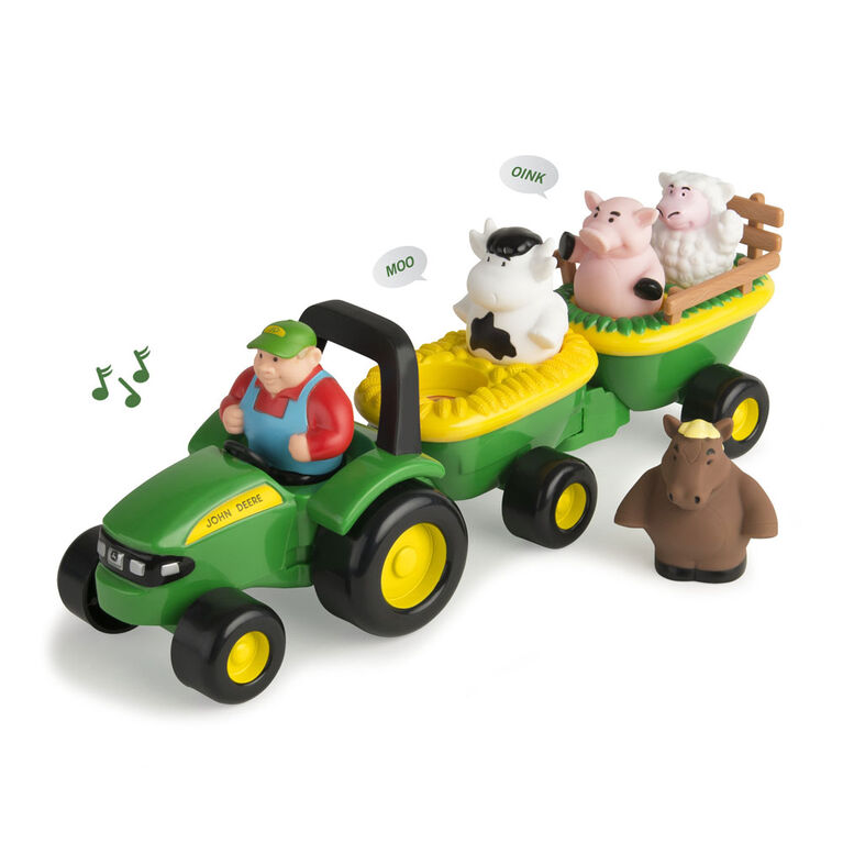John Deere Animal Sounds Hayride