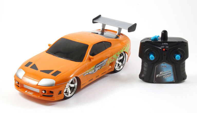 Fast & Furious 1:16 R/C 1995 Toyota Supra-Orange.