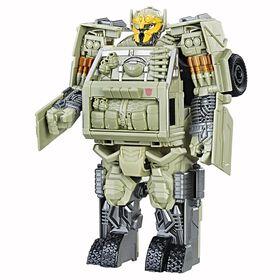 Transformers: Le dernier chevalier - Autobot Hound Turbo Changer Armure de chevalier.