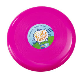 "Out and About 10"" Flying Disc Pink"