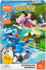 Mega Construx Pokemon Totodile Vs Snubbull