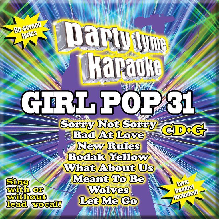 CD-Karaoke Girl Pop 31
