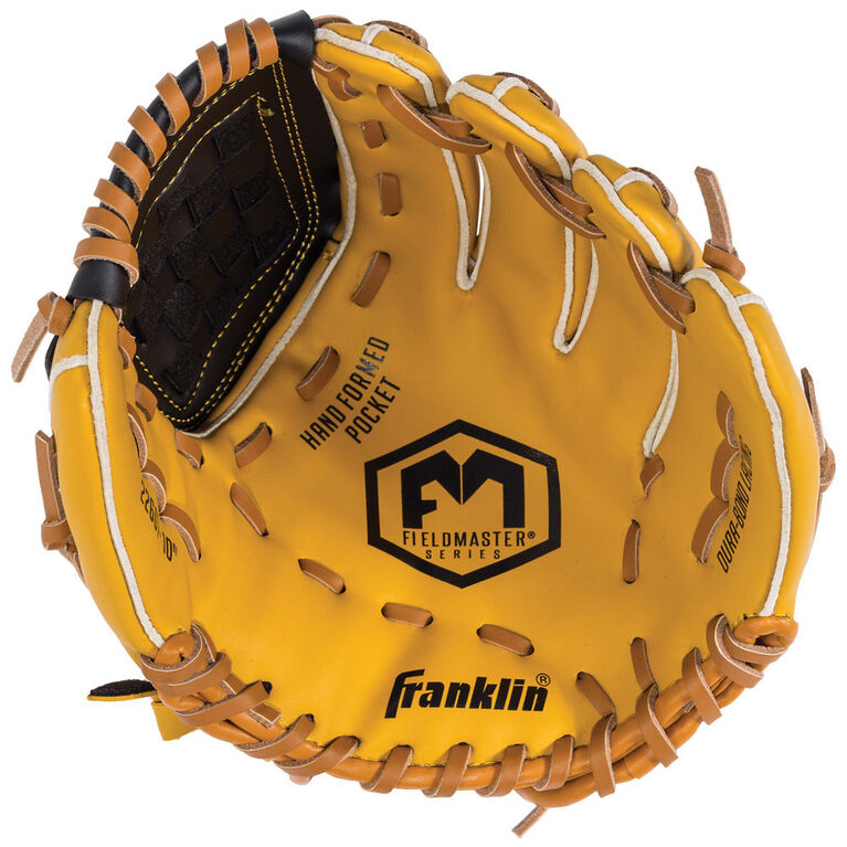 """Franklin Sports Field Master 10"""" Baseball Glove For Right Handed Thrower"""