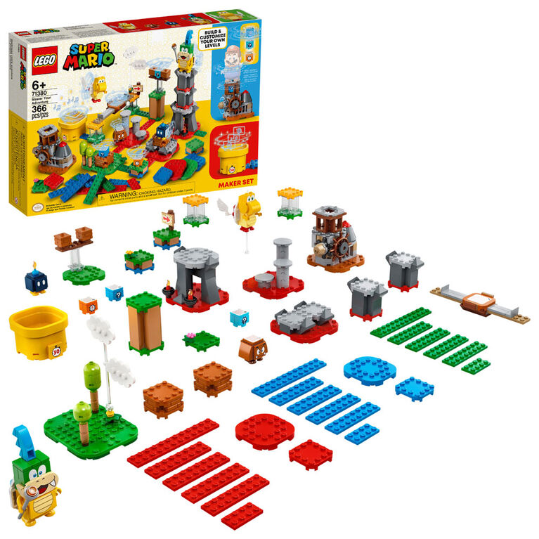 LEGO Super Mario Master Your Adventure Maker Set 71380