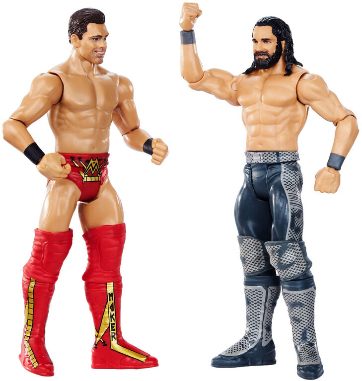 WWE Wrestlemania Seth Rollins vs the Miz 2-Pack - English Edition
