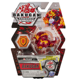 Bakugan, Cycloid, 2-inch Tall Armored Alliance Collectible Action Figure and Trading Card