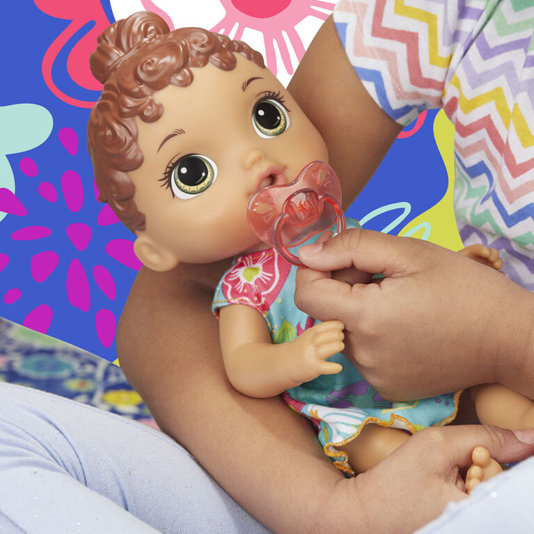Baby Alive Bébé Petits sons : Poupée de bébé interactive.