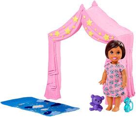 Barbie - Babysitters Inc. - Skipper - Poupée et coffret de jeu