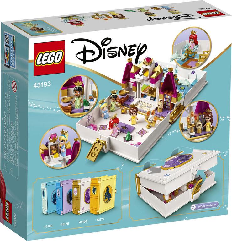 LEGO Disney Princess Les aventures d'Ariel, Belle, Cendrillon 43193