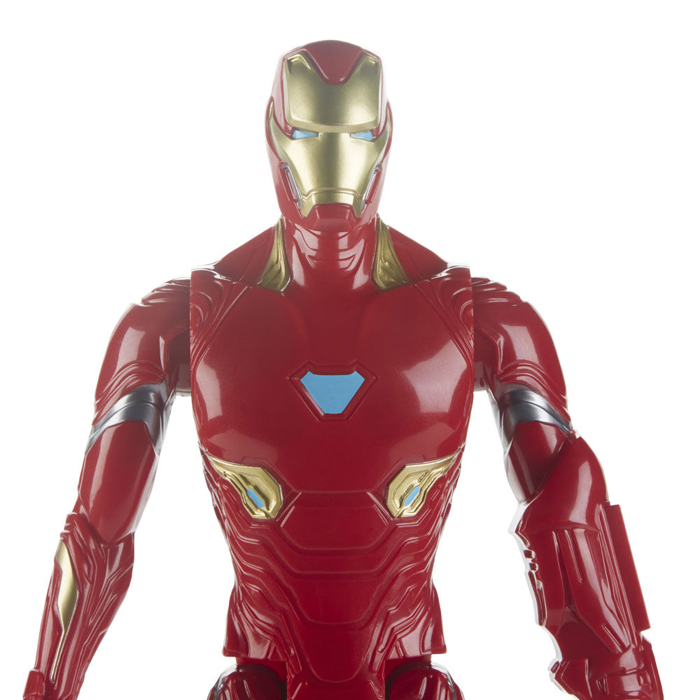 The Avengers Endgame Titan Hero Series Iron Man 12-Inch-Scale Kids Fun Gift