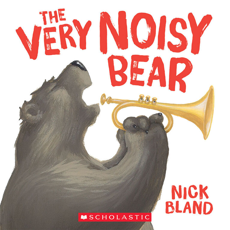The Very Noisy Bear - Édition anglaise