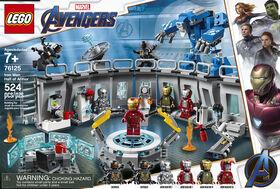 LEGO Super Heroes Marvel La salle des armures d'Iron Man 76125