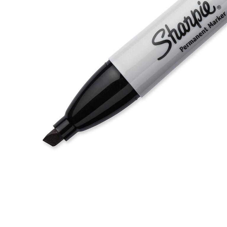 Sharpie Chisel Black 2 Pack