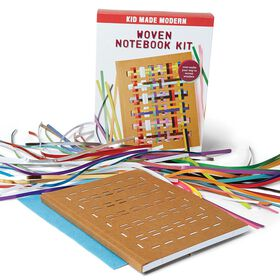 Kid Made Modern – Trousse de cahier tissé.